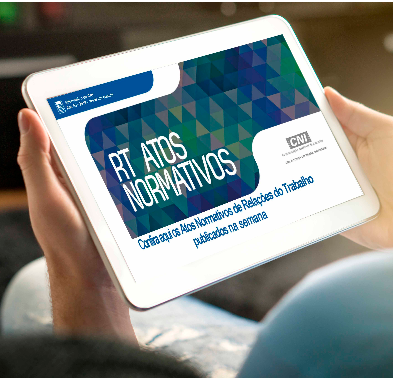 Atos Normativos de Relações do Trabalho publicados do dia 4 a 8 de outubro/2021