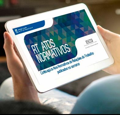 Atos Normativos de Relações do Trabalho publicados do dia 31 de maio a 4 de junho/2021